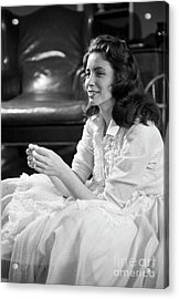 June Carter, 1956 Acrylic Print by The Harrington Collection