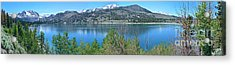 June Lake Panorama Acrylic Print