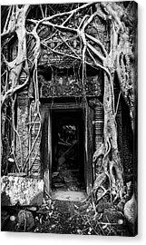 Jungle Temple Door #2 Acrylic Print