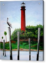 Jupiter Lighthouse Number Two Acrylic Print