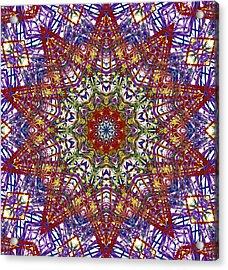 Kaleidoscope 414 Acrylic Print