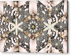 Acrylic Print featuring the digital art Kaleidoscope 97 by Ron Bissett