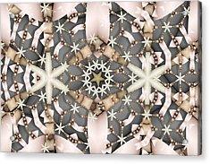 Kaleidoscope 97 Acrylic Print by Ron Bissett