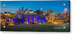 Kansas City Panorama Acrylic Print
