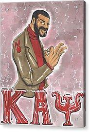 Kappa Alpha Psi Fraternity Inc Acrylic Print