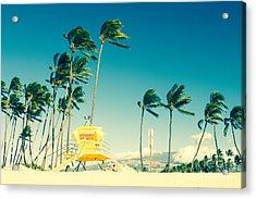 Kapukaulua Beach Maui North Shore Hawaii Acrylic Print