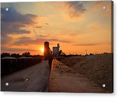 Katy Texas Sunset Acrylic Print