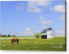 Kentucky Acrylic Print by Darren Fisher