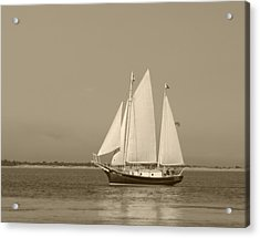 Ketch - Nantucket Harbor Acrylic Print