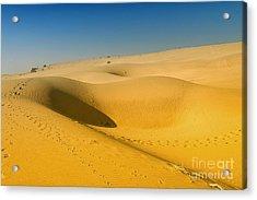 Acrylic Print featuring the photograph Khuri Desert by Yew Kwang