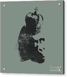 King Ape Acrylic Print by Pixel Chimp