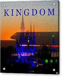 Acrylic Print featuring the digital art Kingdom by David Lee Thompson
