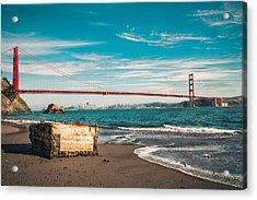 Acrylic Print featuring the photograph Kirby Cove Treasure by Kim Wilson