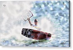 Kitesurf  Acrylic Print