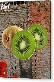Kiwi Collection Acrylic Print by Marvin Blaine