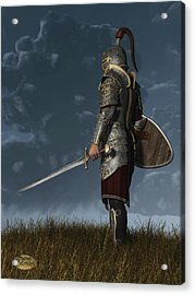 Knight Of The Storm Acrylic Print