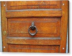 Knock Knock On Wood Acrylic Print by JAMART Photography