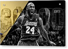 Kobe Bryant Collection Acrylic Print by Marvin Blaine