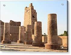 Acrylic Print featuring the photograph Kom Ombo by Silvia Bruno