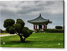 Korean Bell Of Friendship Acrylic Print