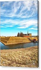Acrylic Print featuring the photograph Kronborg Castle In Helsingor by Antony McAulay