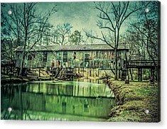 Kymulga Covered Bridge Acrylic Print by Phillip Burrow