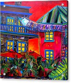 La Villita Entrance Acrylic Print by Patti Schermerhorn