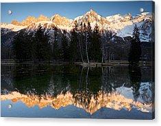 Lacs Des Gaillands Acrylic Print