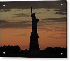 Lady Liberty  Acrylic Print by Jessica Stiles