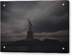 Lady Liberty Acrylic Print by Rob Hans