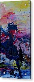 Lady Of La Mancha Dances Acrylic Print by Penfield Hondros