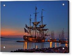 Lafayette's Hermione Voyage 2015 Acrylic Print