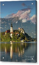 Acrylic Print featuring the photograph Lake Bled by Brian Jannsen
