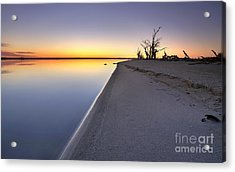 Lake Bonney Sunrise Barmera Riverland South Australia Acrylic Print