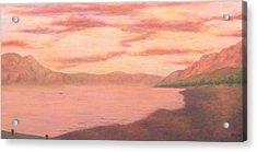 Lake Chapala Acrylic Print