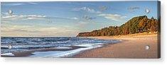 Lake Michigan In The Fall Acrylic Print