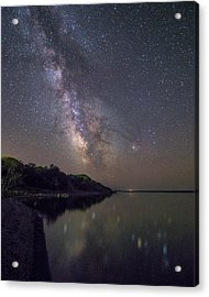 Acrylic Print featuring the photograph Lake Oahe  by Aaron J Groen