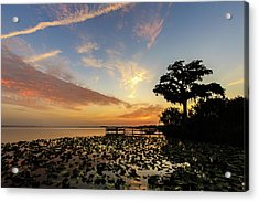 Lake Sunrise Acrylic Print