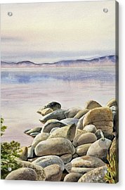 Lake Tahoe Acrylic Print by Irina Sztukowski