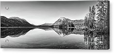 Lake Wenatchee Panorama Acrylic Print by Jamie Pham