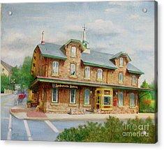 Lambertville Inn Acrylic Print