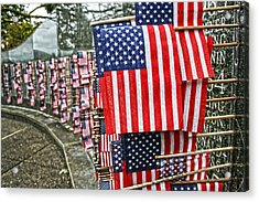 Land Of The Free Acrylic Print by Kerry Langel