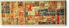 Landscape Acrylic Print by Budis