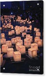 Lantern Ceremony Acrylic Print by Brandon Tabiolo - Printscapes