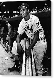 Larry Doby (1923-2003) Acrylic Print by Granger