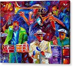 Latin Jazz Acrylic Print by Debra Hurd
