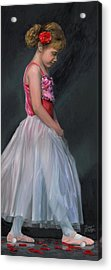 Acrylic Print featuring the painting Lauren Grace by Doug Kreuger