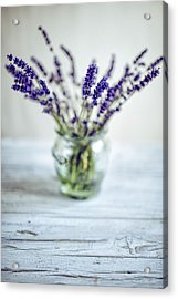 Lavender Still Life Acrylic Print by Nailia Schwarz