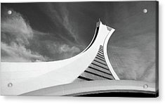 Acrylic Print featuring the photograph Le Stade Olympique De Montreal by Juergen Weiss