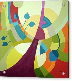 Leaning Towards Fall Acrylic Print by Carola Ann-Margret Forsberg